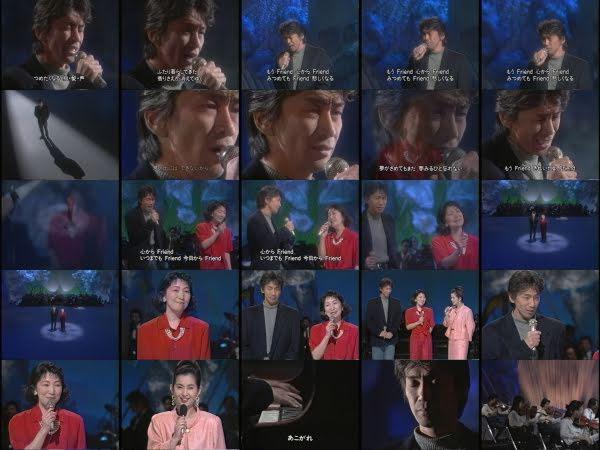 ミュージックフェア 玉置浩二&森山良子 「恋の予感 ロマン 他」