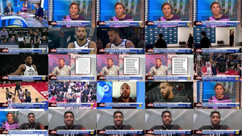 NBA star details coronavirus from isolation l GMA