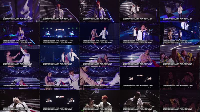 """GENERATIONS from EXILE TRIBE / 「One in a Million -奇跡の夜に-」GENERATIONS LIVE TOUR 2019 """"少年クロニクル"""""""