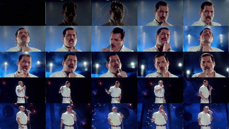 Freddie Mercury - Time Waits For No One (Official Video)