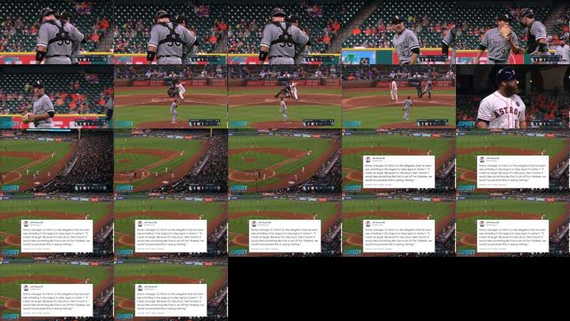 Astros using cameras to steal signs, a breakdown