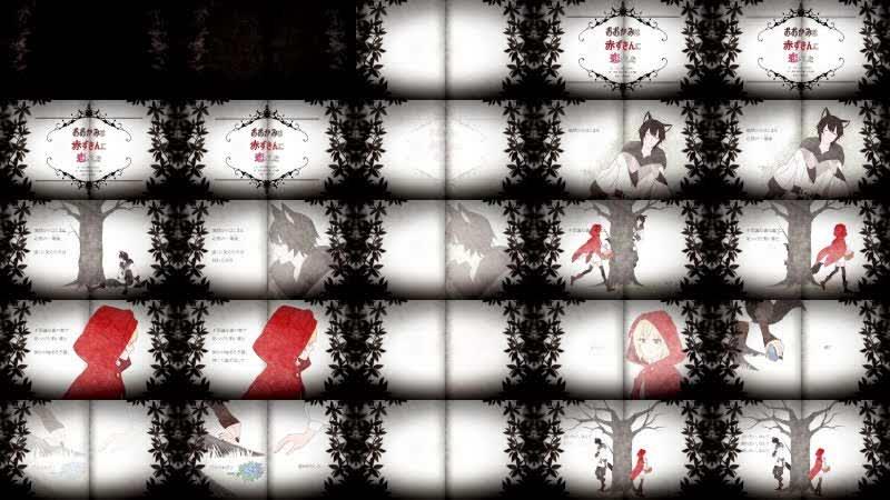 【オリジナルPV】おおかみは赤ずきんに恋をした / 96猫&天月 【歌ってみた】
