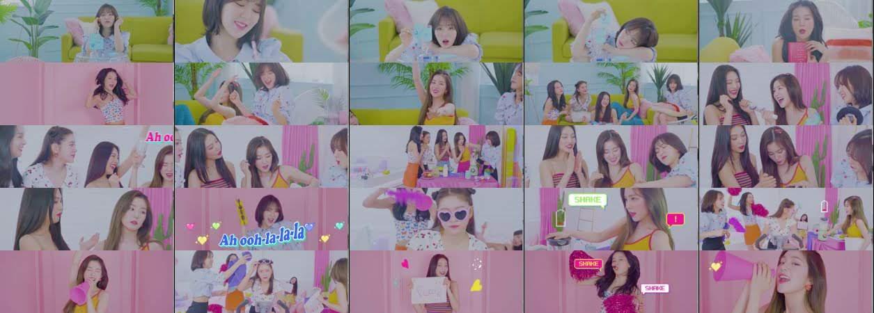 Red Velvet 레드벨벳 'Milkshake' Special Video @'inteRView vol.5' with ReVeluv