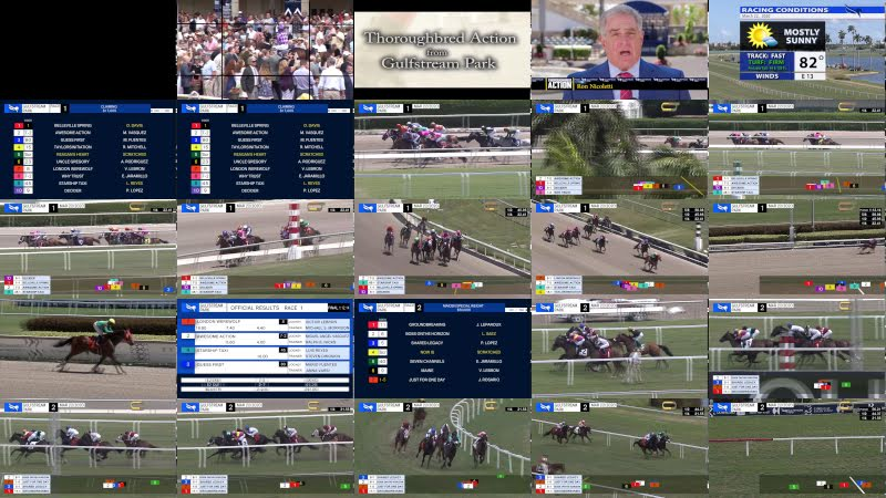 Gulfstream Park Replay Show | March 22, 2020