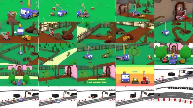 春季的第一天 - 和迷你卡车学习 Learn with Tiny Trucks 👶幼儿早教卡通: Chinese Madarin Educational Cartoons for Kids