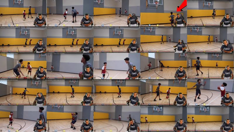 FLIGHT TACKLED A 13 YEAR OLD KID AFTER LOSING IN 1vs1 Basketball