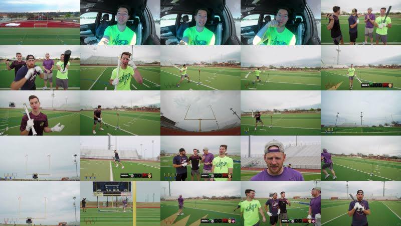 All Sports Baseball Battle | Dude Perfect