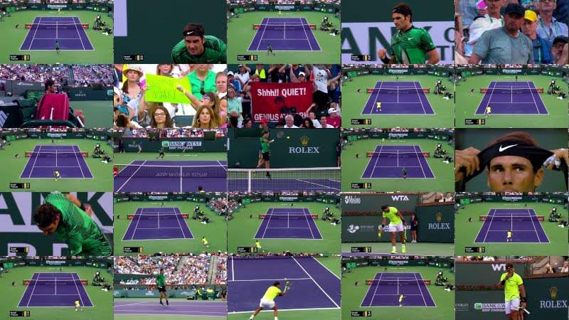 The Most Pure Agressive Neo Tennis by Roger Federer