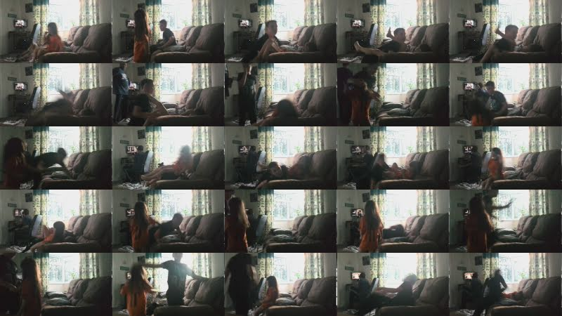 Wrestling my little sister in john cena she is reymastirio