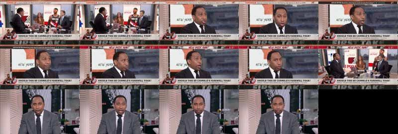 Stephen A. gets realistic about Carmelo Anthony's future in the NBA   First Take