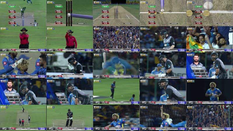 Lasith Malinga's four-ball 4-wicket hat-trick