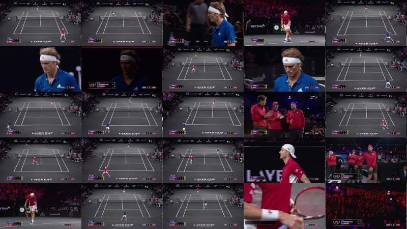 Match Highlights: Zverev v Isner, Day 2, September 21 2019