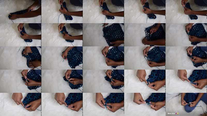 diy Crochet Cover Up Shorts Tutorial | The KBIV Way