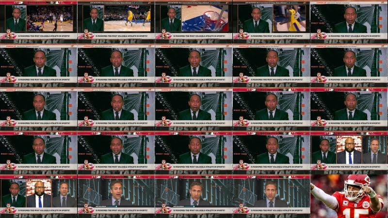 First Take debates Patrick Mahomes' status in sports