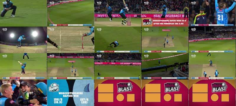 T20 FINALS Day Flashback - Match Highlights | Vitality Blast 2018