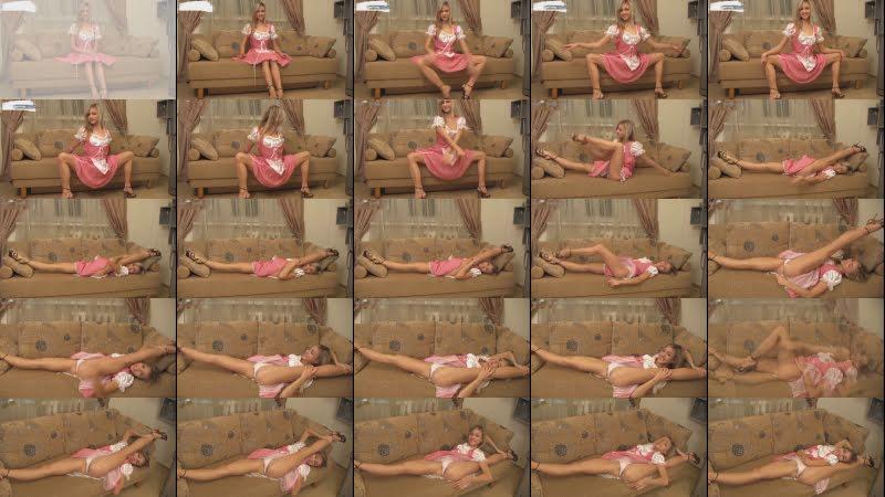 Russian gymnast Valentina with her amazing flexibility! Супер гимнастка из России!!!